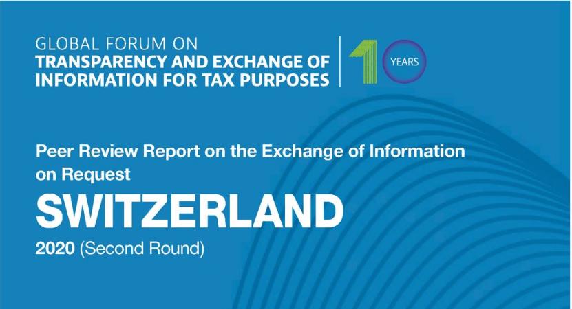 Глобальный форум ОЭСР оценил усилия Швейцарии по достижению налоговой прозрачности