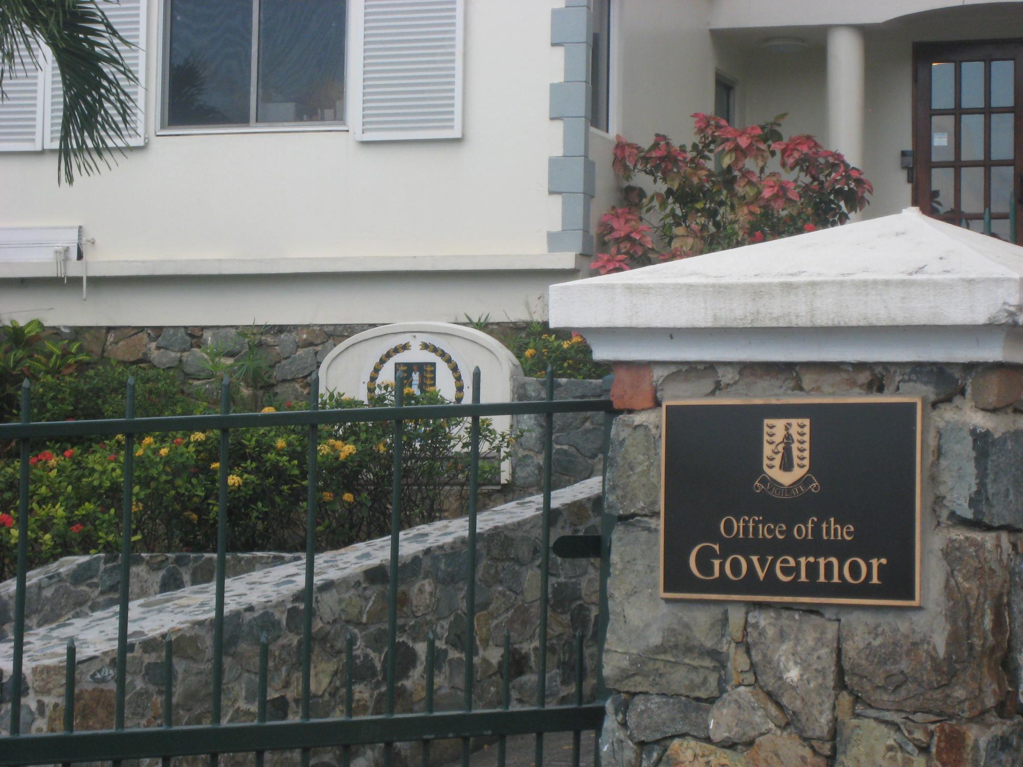 Офис Губернатора BVI. Еще один орган, где можно апостилировать документы