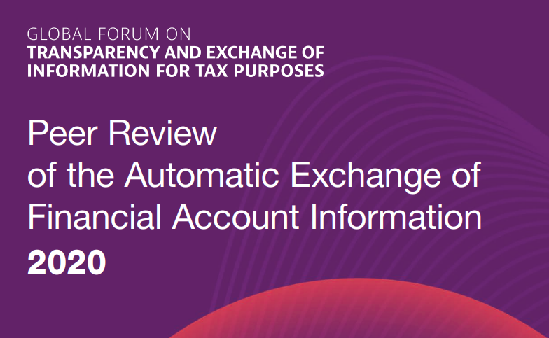 Peer Review of the Automatic Exchange of Financial Account Information 2020
