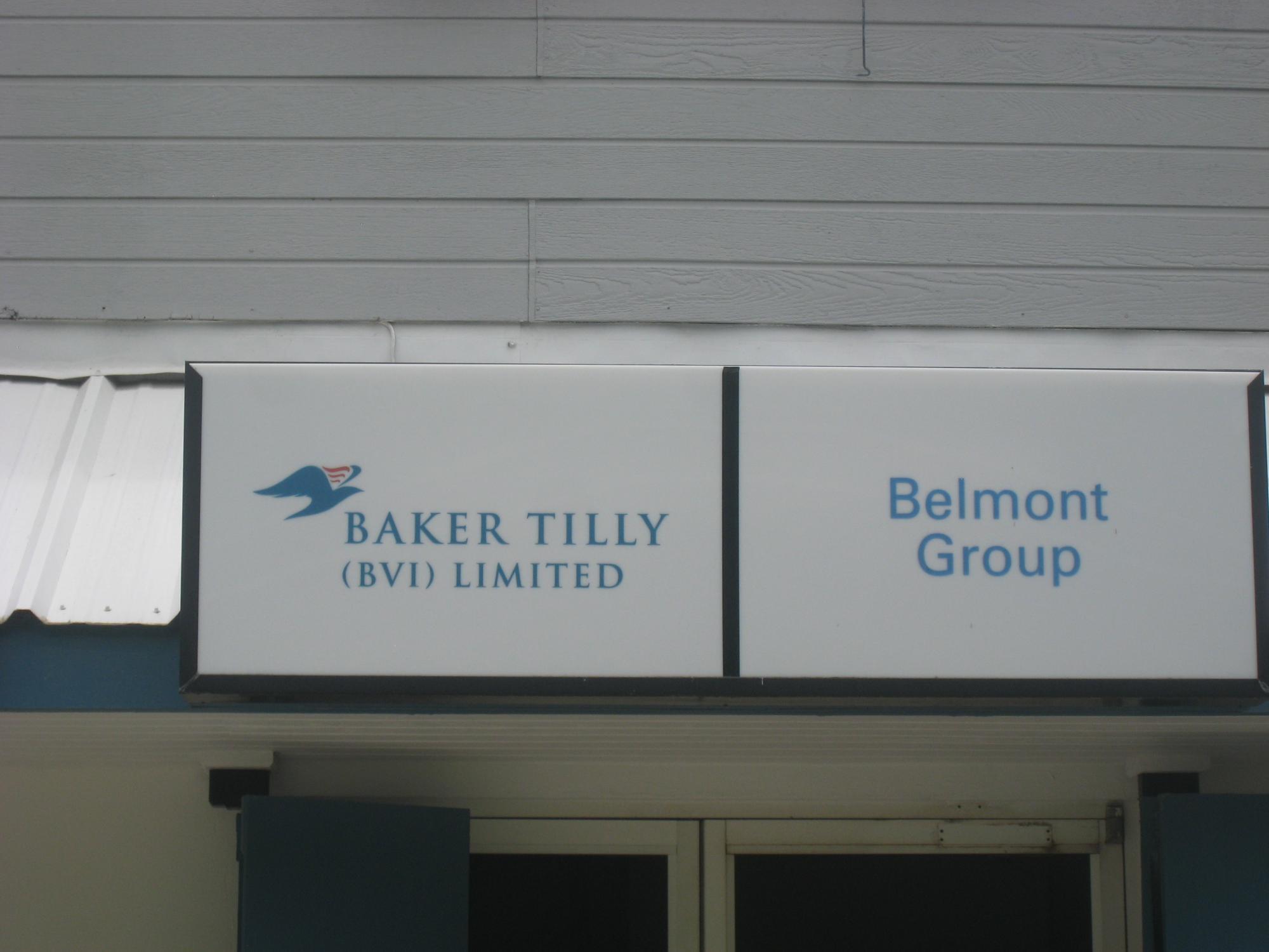 2011: Baker Tilly (BVI), Limited. На сегодняшний день отсутствующий в списке агентов