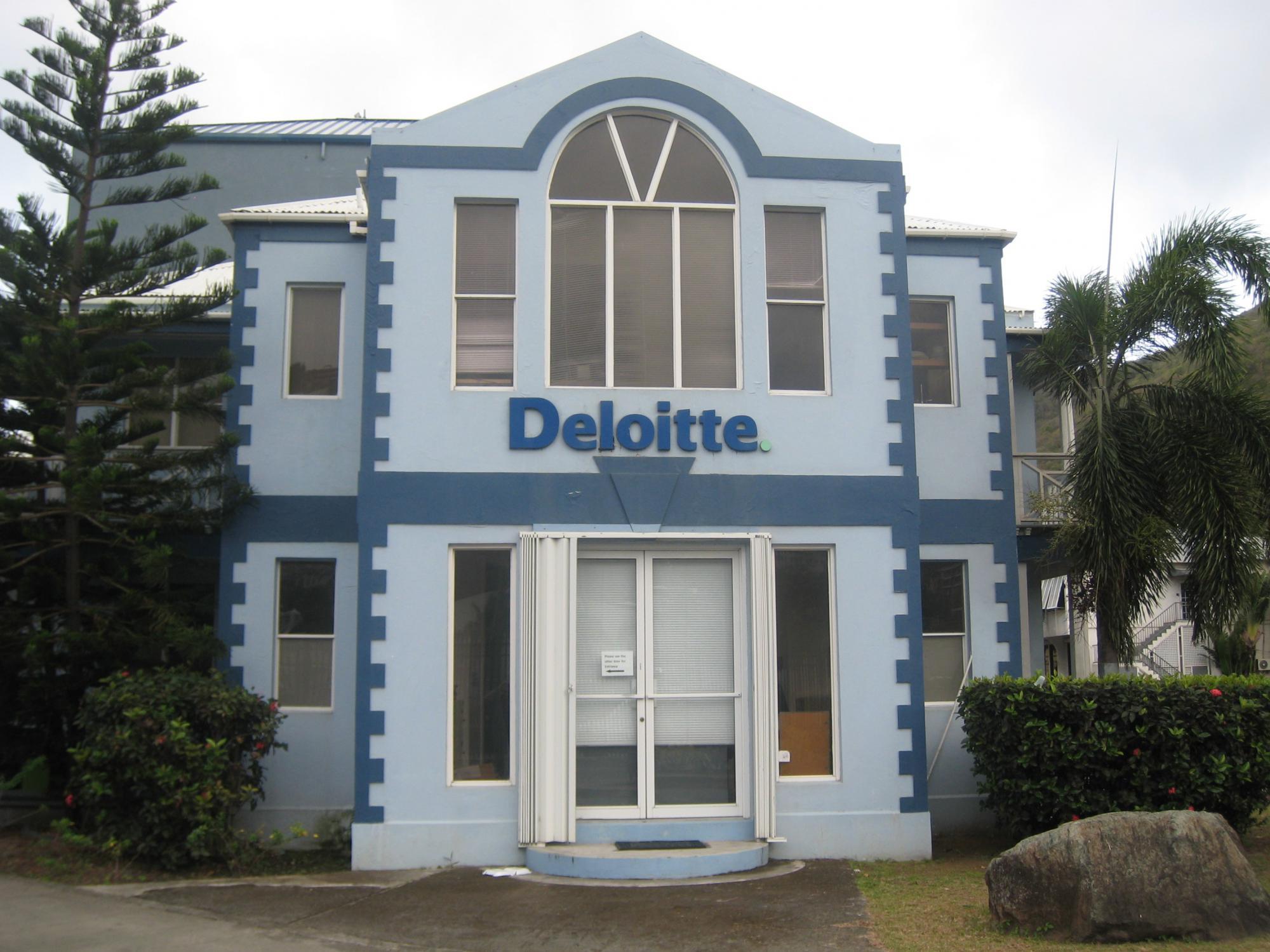 Офис Deloitte на БВО. Один из офисов, представленной на BVI фирм