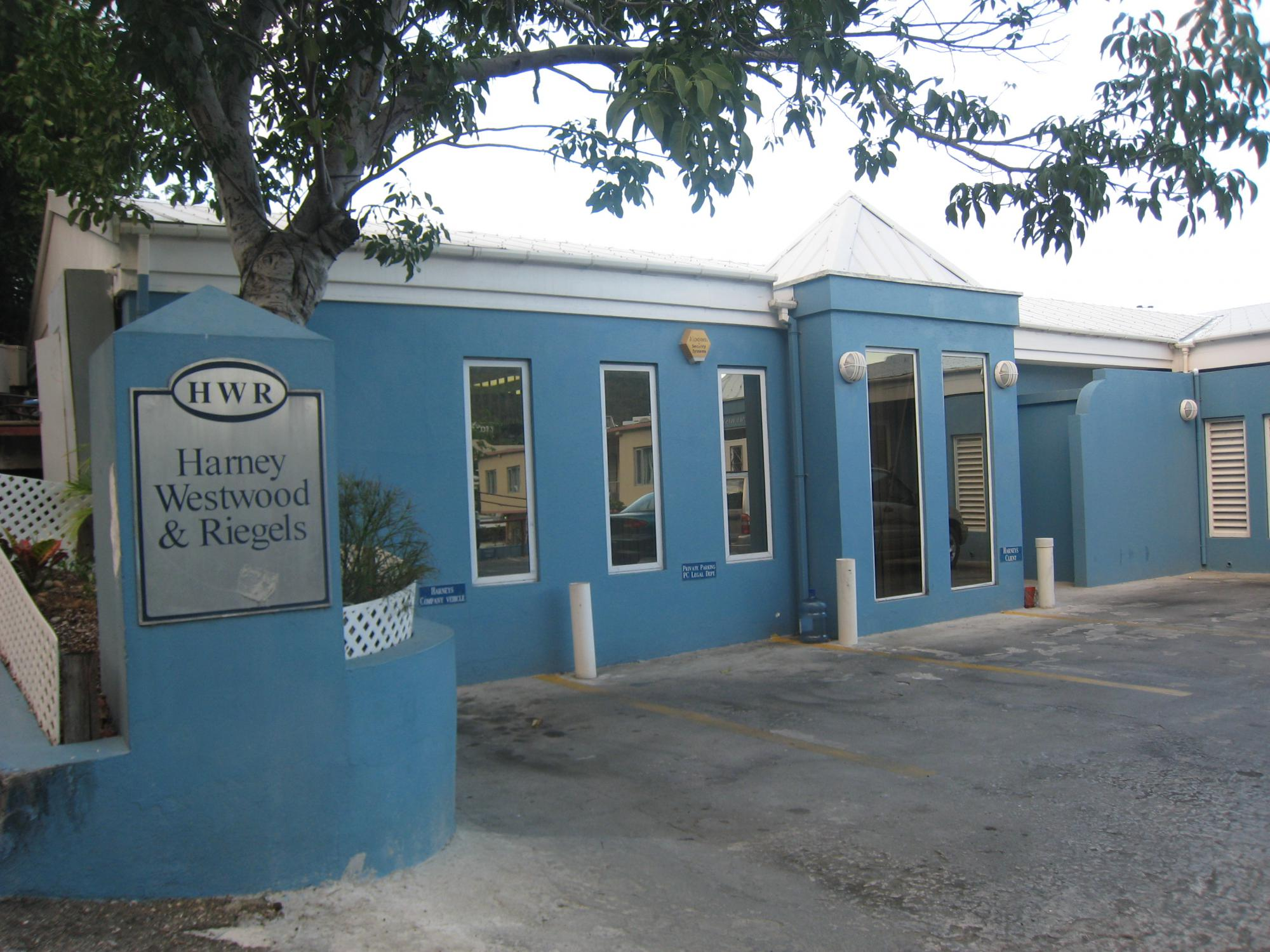 HWR - крупнейший агент и юридическая фирма на БВО. Кроме того, Harneys является советником правительству БВО.